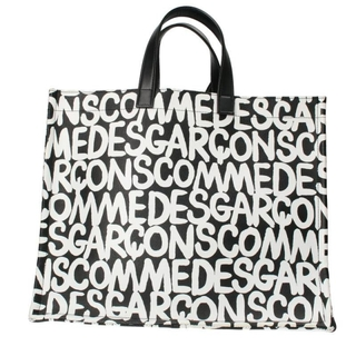 コムデギャルソン(COMME des GARCONS)のコムデギャルソン ロゴプリントポーチ付きハンドバッグ(その他)