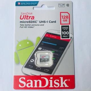 サンディスク(SanDisk)の新型高速版 SanDisk switch利用可能 マイクロSDカード 128GB(その他)