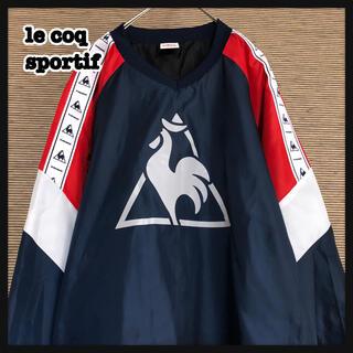 le coq sportif - 【ルコック】ピステ シャカシャカ トレーニングウエア デカロゴ サッカー中綿M