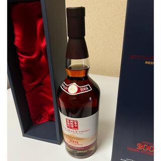 サントリー(サントリー)の富士山麓シングルモルト2004 赤ワインフィニッシュ 700ml(ウイスキー)