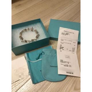 Tiffany & Co. - Tiffany& Co ハードウェアリンクブレスレット