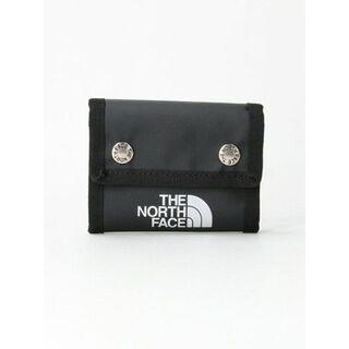 ザノースフェイス(THE NORTH FACE)の【未使用品】 ノースフェイス BCドットワレット ブラック(折り財布)