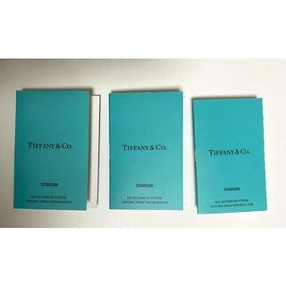 ティファニー(Tiffany & Co.)のティファニー オードパルファム インテンス サンプル 三個セット(香水(女性用))