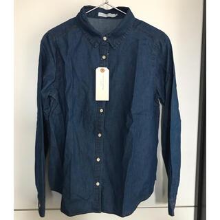 ショコラフィネローブ(chocol raffine robe)のchocolraffine  デニムシャツ(シャツ/ブラウス(長袖/七分))
