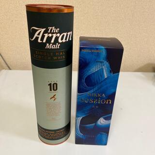 ニッカウイスキー(ニッカウヰスキー)のアラン10年 46度 700ml    旧ボトル ニッカ セッション(ウイスキー)
