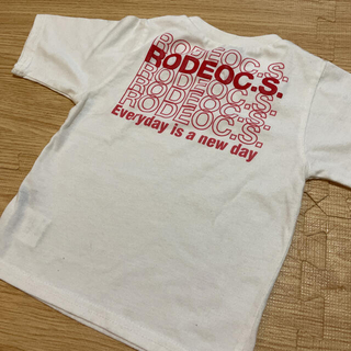 ロデオクラウンズワイドボウル(RODEO CROWNS WIDE BOWL)のRCWB Tシャツ S キッズ(Tシャツ/カットソー)