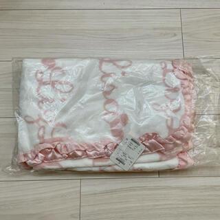 LIZ LISA - 【新品タグ付】リズリサ LIZLISAフリル ブランケット 膝掛け 毛布