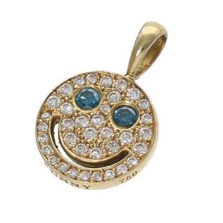 EYEFUNNY - アイファニー ダイヤモンド スマイル S ブルーアイズネックレストップ S