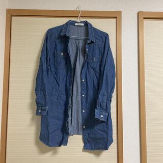ショコラフィネローブ(chocol raffine robe)のchocol raffine デニムシャツ(シャツ/ブラウス(長袖/七分))