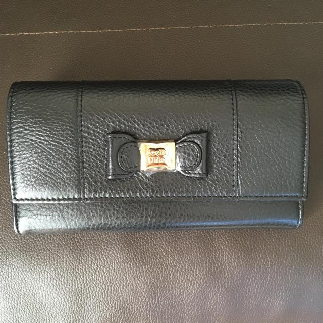 new product fe29a b0c7c シーバイクロエ リボン 長財布 黒 ブラック | フリマアプリ ラクマ