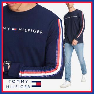 トミーヒルフィガー(TOMMY HILFIGER)の 日本未入荷★トミー フィルフィガー ロゴ ロング スリーブ Tシャツ US/S(Tシャツ/カットソー(七分/長袖))