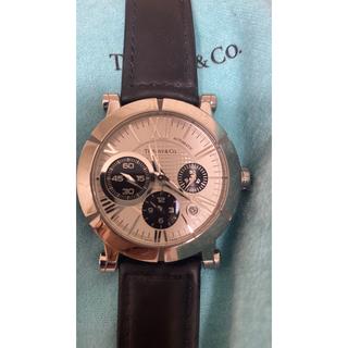 ティファニー(Tiffany & Co.)の【購入履歴写メ有り】ティファニー アトラスジェント クロノグラフ(腕時計(アナログ))