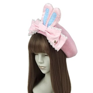 アンジェリックプリティー(Angelic Pretty)の新品Dollybunnyベレー(ハンチング/ベレー帽)