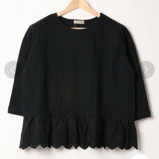 サマンサモスモス(SM2)の裾レースカットソー(Tシャツ/カットソー)