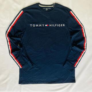トミーヒルフィガー(TOMMY HILFIGER)の 日本未入荷★トミー フィルフィガー ロゴ ロング スリーブ Tシャツ US/L(Tシャツ/カットソー(七分/長袖))
