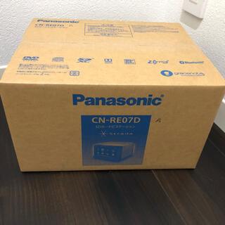 パナソニック(Panasonic)のPanasonic ストラーダ CN-RE07D(カーナビ/カーテレビ)