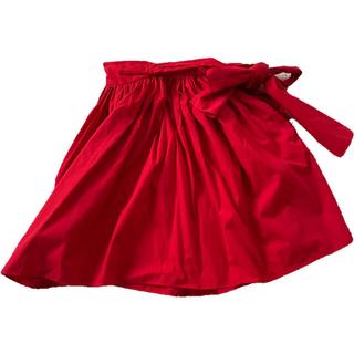 """ミュウミュウ(miumiu)の""""miumiu"""" flea skirt (ひざ丈スカート)"""