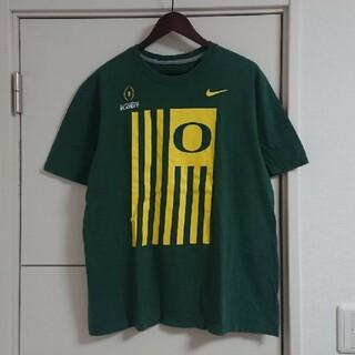NIKE - NIKE ナイキ Tシャツ オレゴン大学 カレッジ古着 ビッグプリント