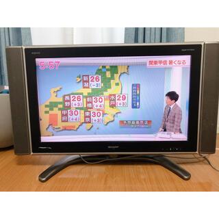 アクオス(AQUOS)の【サイドスピーカー付き】SHARP AQUOS シャープアクオス32インチ(テレビ)
