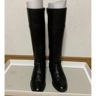 バークレー(BARCLAY)のBARCLAYロングブーツ 黒(ブーツ)