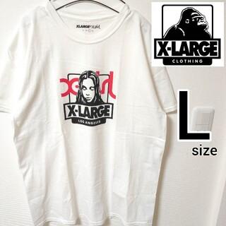 XLARGE - エックスガールコラボ 白 エクストララージ 半袖Tシャツ カットソー メンズ L