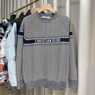ディオール(Dior)のDior セーター 千鳥格子 カシミア(ニット/セーター)