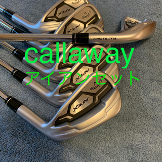 Callaway Golf - キャロウェイ APEX FORGEDスチールRアイアンセット