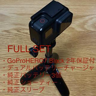GoPro - 限定割引 GoPro 7 BLACK  23年10月まで保証純正充電器等