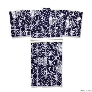 バンダイ(BANDAI)のSTRICT-G×三勝コラボ 『機動戦士ガンダム」メンズ 注染浴衣+角帯 XL(浴衣)