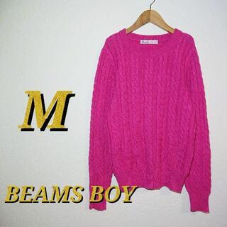 ビームスボーイ(BEAMS BOY)のm-1421【BEAMS BOY】《サイズM》ニット セーター(ニット/セーター)
