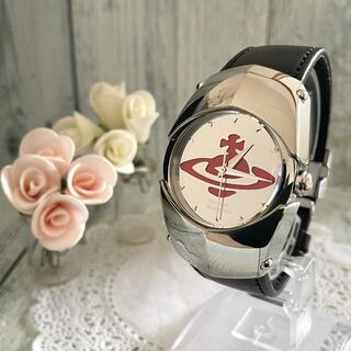 ヴィヴィアンウエストウッド(Vivienne Westwood)の【希少】vivienne ヴィヴィアン 腕時計 アーマー Mウォッチ シルバー(腕時計(アナログ))