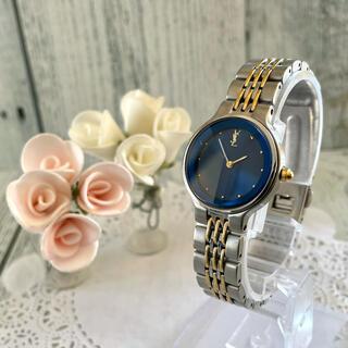 サンローラン(Saint Laurent)の【動作OK】Yves Saint Laurent 腕時計 Yカットガラス (腕時計)