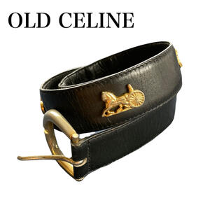 celine - OLD CELINE ヴィンテージ ベルト 馬車金具