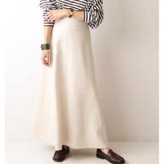 プラージュ(Plage)のplage  Dry wool maxi スカート(ロングスカート)