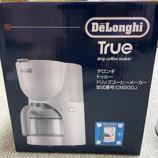 DeLonghi - *新品未使用*デロンギ コーヒーメーカー CM200J-WH