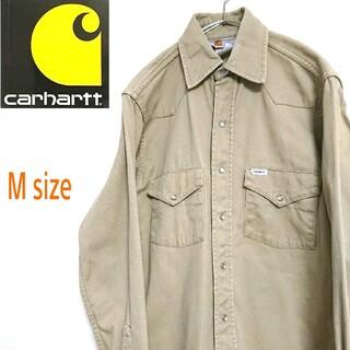 カーハート(carhartt)のCARHARTT カーハート 長袖 シャツ ワークシャツ  ワンポイントロゴ(シャツ)