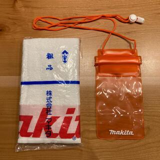 マキタ(Makita)のmakita  タオル・スマホケース(タオル/バス用品)