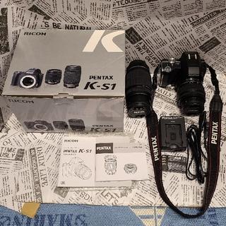 ペンタックス(PENTAX)のPENTAX K-S1 K-S1 300Wズームキット:ジャンク(デジタル一眼)