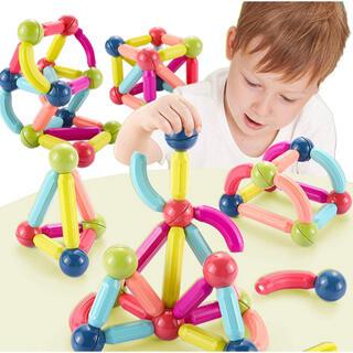 マグネットブロック 知育玩具 積み木 プレゼント6歳以上 (36PCS)(知育玩具)