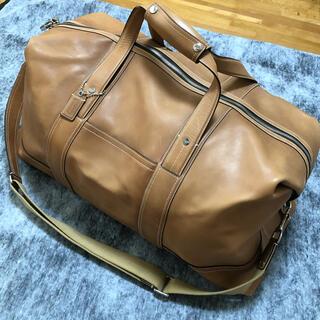 COACH - コーチ レザーボストンバッグ 0503 大容量旅行バッグ