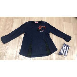 ホットビスケッツ(HOT BISCUITS)のミキハウス ホットビスケッツ 長袖 90cm(Tシャツ/カットソー)