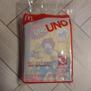 マクドナルド(マクドナルド)のウノ UNO マクドナルド ハッピーセット おもちゃ 新品未開封(トランプ/UNO)