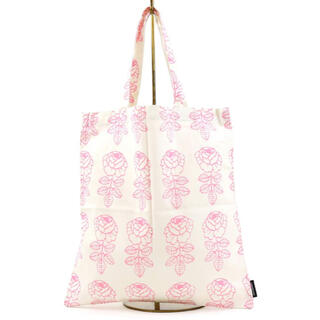 マリメッコ(marimekko)の完売 日本限定 マリメッコ ヴィヒキルース スモールファブリックバッグ ピンク(トートバッグ)