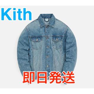 Supreme - Kith FW2021 新作デニムジャケット ペイズリー柄 S