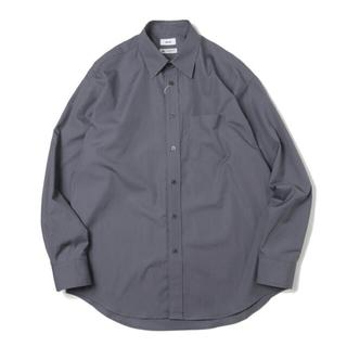 アレッジ(ALLEGE)の【定価以下販売】allege 21aw standard shirt gray(シャツ)