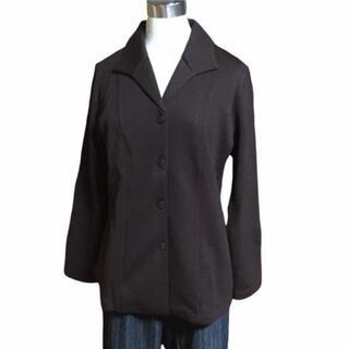 シャルレ(シャルレ)のシャルレ EL019 ブラウン ニットジャケット M 3001(テーラードジャケット)