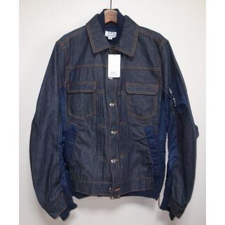 サカイ(sacai)のsacai APC eimi jacket デニムジャケット navy XS(Gジャン/デニムジャケット)