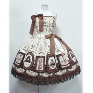 Angelic Pretty - Musee du Chocolatジャンパースカート&ブラウスセット