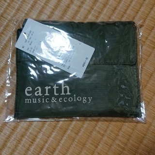 アースミュージックアンドエコロジー(earth music & ecology)のearthmusic&ecology エコバック 新品 未使用 カーキ色 未開封(エコバッグ)