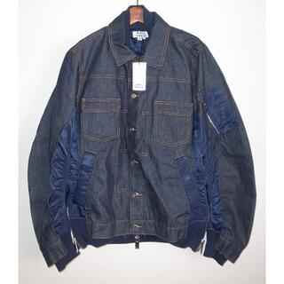 サカイ(sacai)のsacai APC eimi jacket デニムジャケット navy S(Gジャン/デニムジャケット)